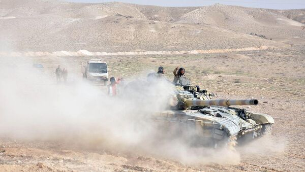 Palmira operasyonu / Suriye askeri - Sputnik Türkiye