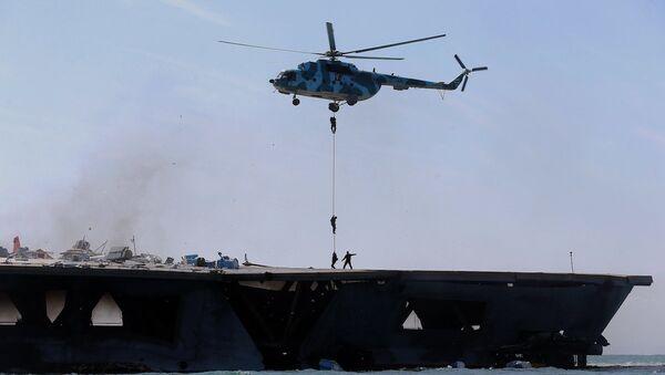 İran'da ambulans helikopter düştü (Arşiv) - Sputnik Türkiye