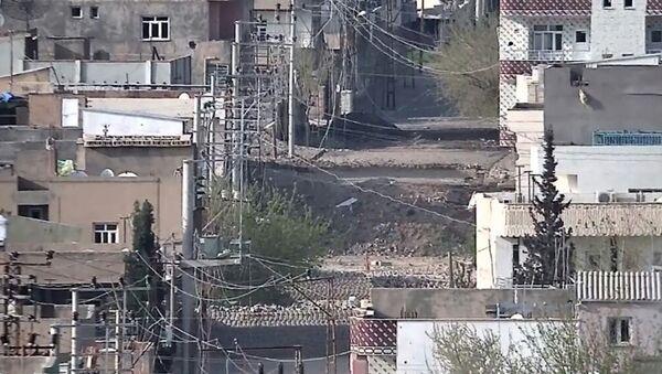 Mardin'in Nusaybin ilçesinde operasyonlar devam ediyor. - Sputnik Türkiye