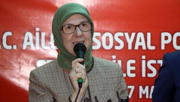 Aile ve Sosyal Politikalar Bakanı Sema Ramazanoğlu - Sputnik Türkiye