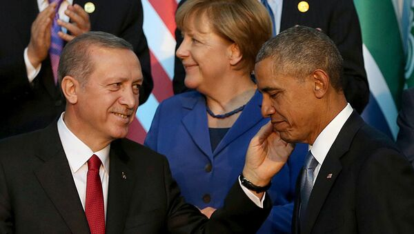 Recep Tayyip Erdoğan - Barack Obama - Sputnik Türkiye