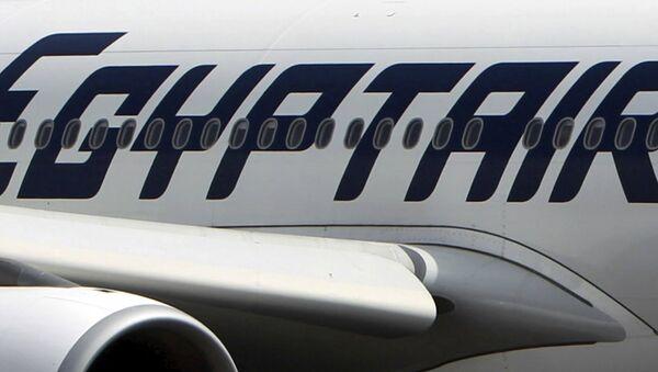 Mısır Havayolları'na ait bir uçak - Sputnik Türkiye