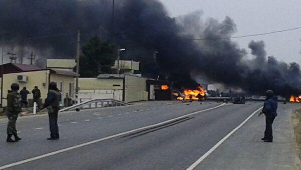 Dağıstan'da askeri konvoya saldırı - Sputnik Türkiye