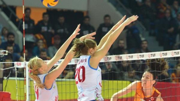 Galatasaray Daikin- Dinamo Krasnodar voleybol maçı - Sputnik Türkiye