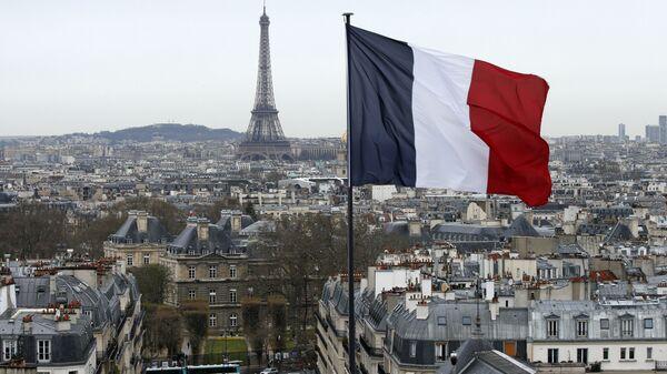 Fransa bayrağı - Paris - Sputnik Türkiye