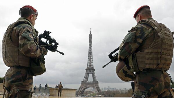 Fransız askeri - Paris - Sputnik Türkiye