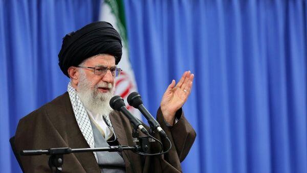 İran'ın Dini Lideri Ayetullah Ali Hamaney - Sputnik Türkiye