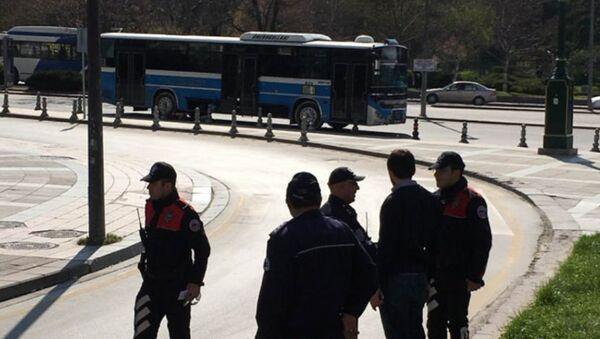 Ankara'da halk otobüsüne bomba ihbarı - Sputnik Türkiye