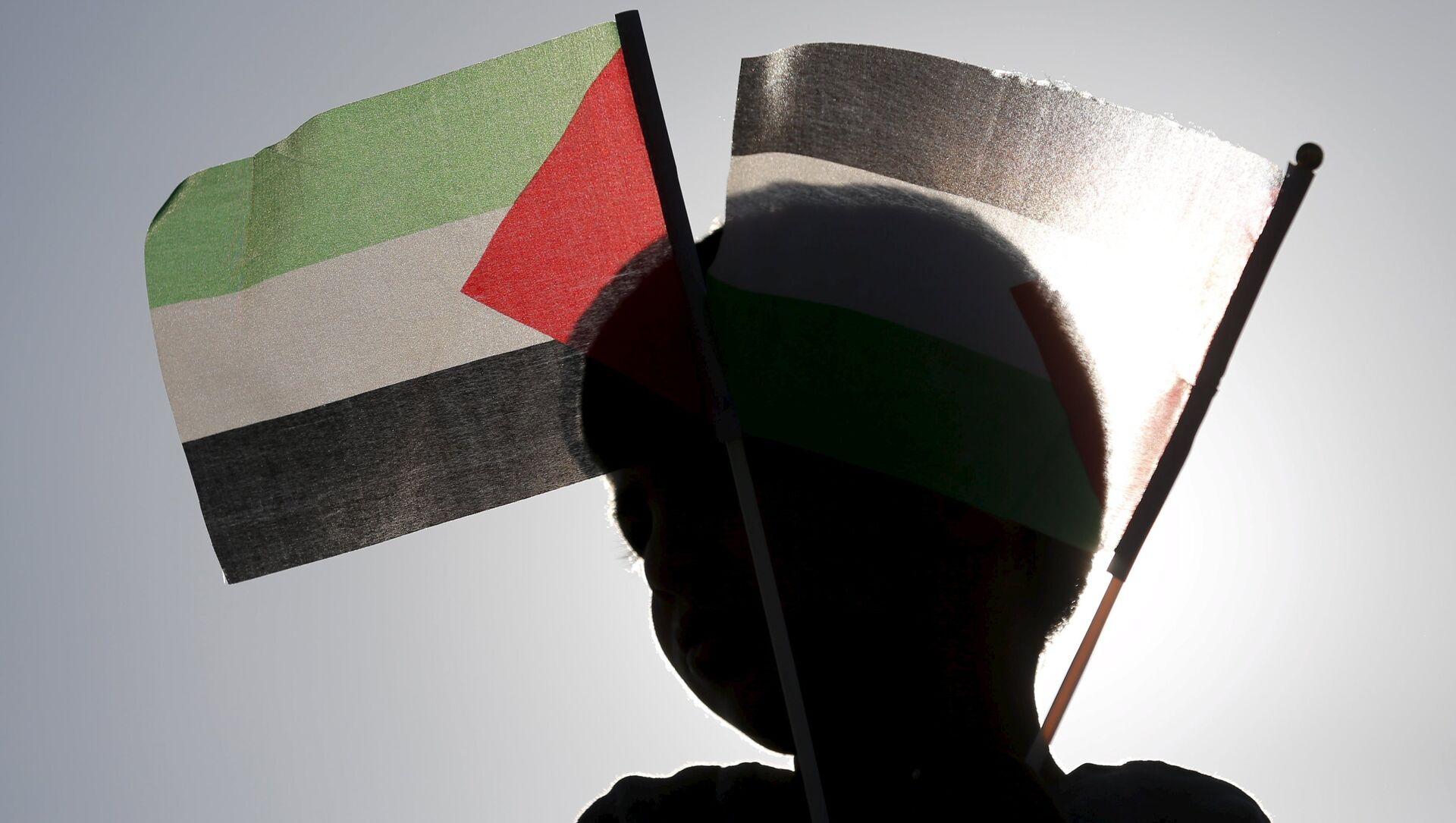 Filistin bayrağı  - Sputnik Türkiye, 1920, 12.05.2021