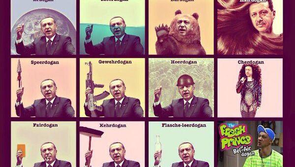 Almanya'da 'Erdoğan mizahı' devam ediyor - Sputnik Türkiye