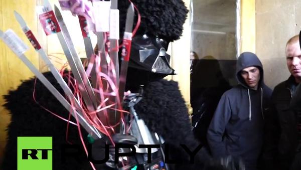 Darth Vader'den Saakaşvili'ye mangal ve şiş hediyesi - Sputnik Türkiye