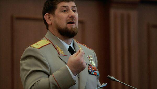 Çeçenistan lideri Ramzan Kadirov - Sputnik Türkiye
