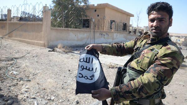 Suriye ordusu  Karyateyn'i IŞİD'den aldı - Sputnik Türkiye