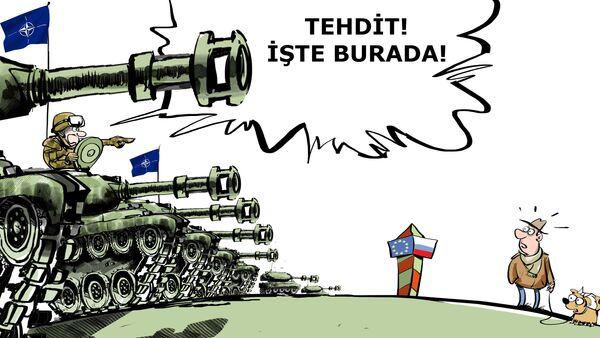 ABD  Avrupa'ya 3 tank tugayı gönderecek - Sputnik Türkiye