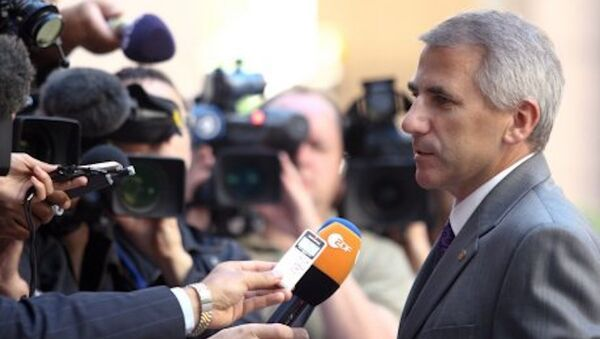 Avrupa Birliği'nin Rusya Büyükelçisi Vigaudas Uşatskas - Sputnik Türkiye