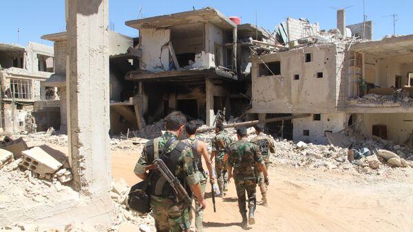 Suriye ordusu askerleri - Sputnik Türkiye