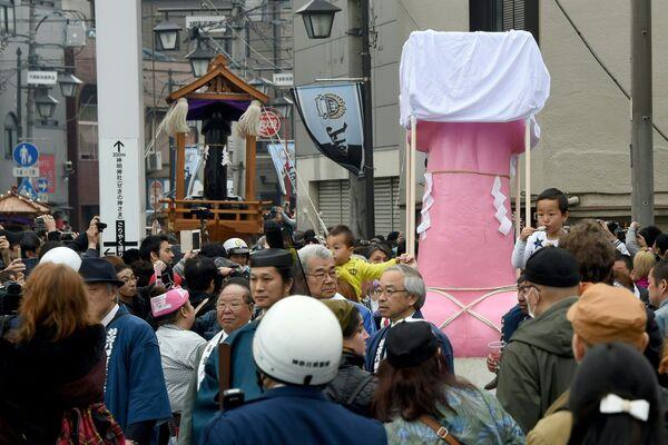 Japonya'da penis festivali - Sputnik Türkiye