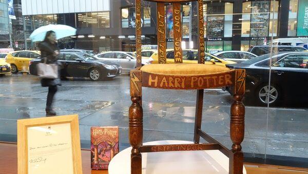 Harry Potter'ın yazıldığı sandalye - Sputnik Türkiye