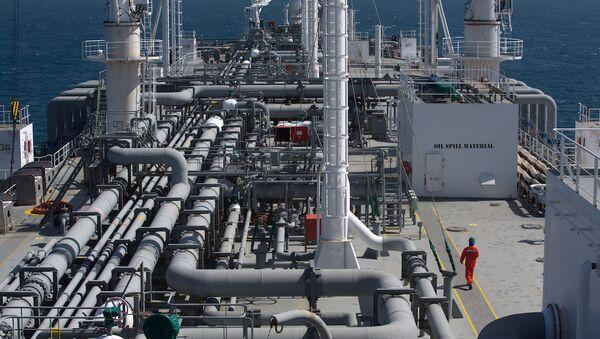 İsrail Elektrik Şirketi için çalışan bir doğalgaz gemisi - Sputnik Türkiye