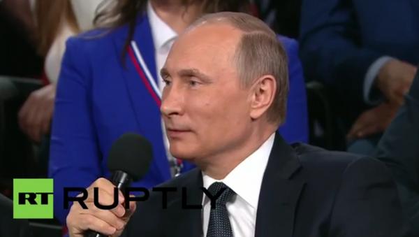 Rusya Devlet Başkanı Vladimir Putin'den Almanca şovu - Sputnik Türkiye