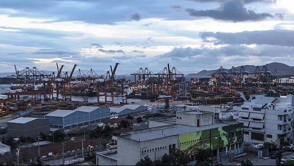 Yunanistan'ın en büyük limanı  Pire - Sputnik Türkiye