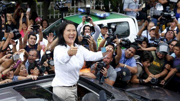 Peru'da devlet başkanlığı adayı Keiko Fujimori - Sputnik Türkiye
