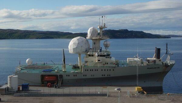 Norveç FS Marjata IV istihbarat gemisi - Sputnik Türkiye