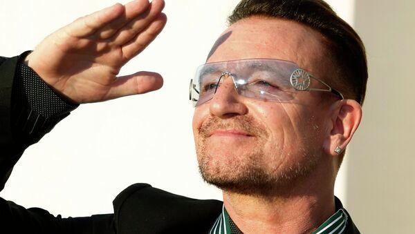 U2'nun solisti Bono - Sputnik Türkiye