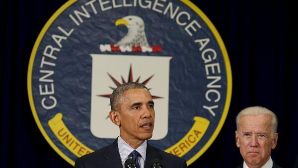 ABD Başkanı Barack Obama- ABD Başkan Yardımcısı Joe Biden - Sputnik Türkiye