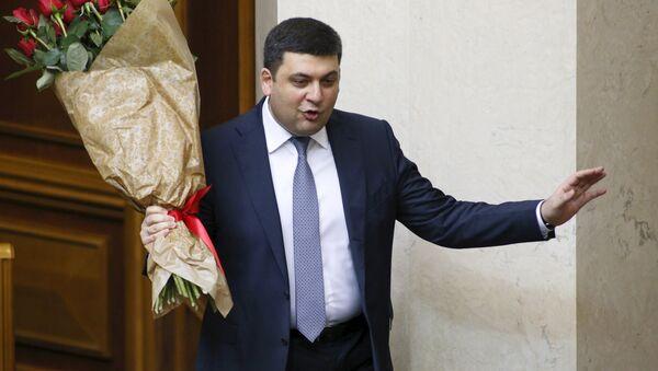 Ukrayna Başbakanı Vladimir Groysman - Sputnik Türkiye