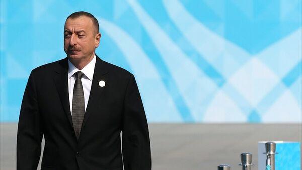 Azerbaycan Cumhurbaşkanı İlham Aliyev - Sputnik Türkiye