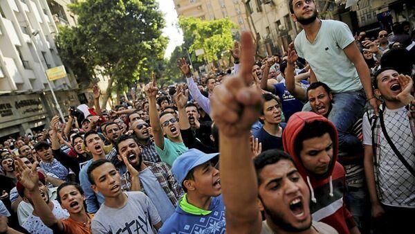 Mısır'da 'toprak namustur' protestosu - Sputnik Türkiye
