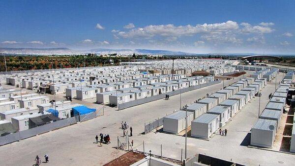 Suriyeliler için 39 bin kişilik 3 yeni konteynerkent kurulacak - Sputnik Türkiye
