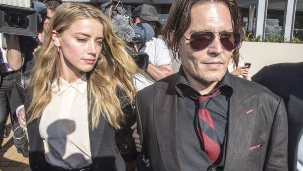 Amber Heard - Johnny Depp - Sputnik Türkiye