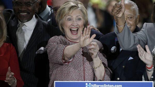 Eski ABD Dışişleri Bakanı Hillary Clinton - Sputnik Türkiye