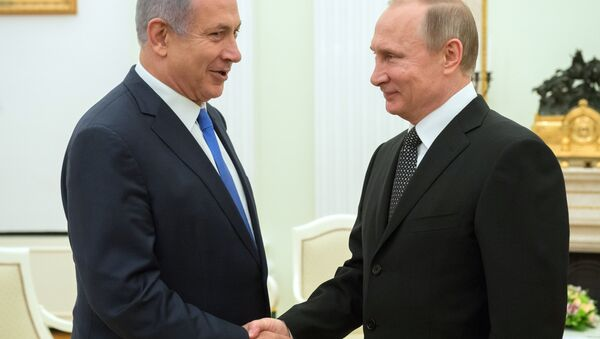Rusya Devlet Başkanı Vladimir Putin ve İsrail Başbakanı Benyamin Netanyahu - Sputnik Türkiye