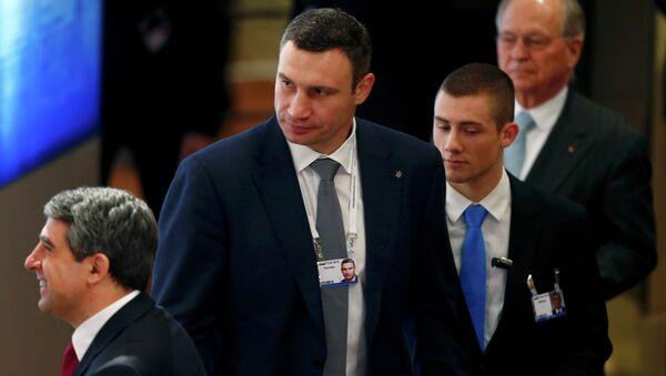 Kiev Belediye Başkanı Vitaliy Kliçko - Sputnik Türkiye