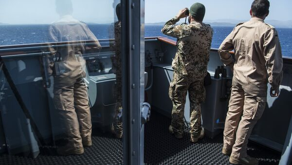 Ege Denizi'ndeki NATO misyonu - Sputnik Türkiye