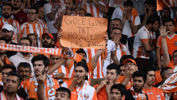 Adanaspor, Süper Lig'e çıkmayı garantiledi - Sputnik Türkiye