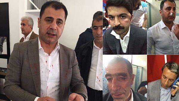 Amedspor Kulübü yöneticileri, MKE Ankaragücü maçının ardından darp edildi. - Sputnik Türkiye