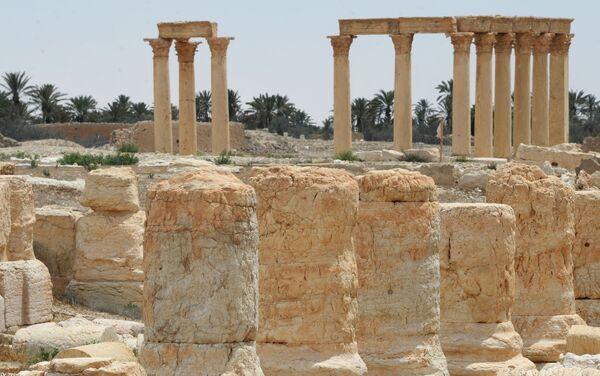 Antik Palmira'dan geriye kalanlar - Sputnik Türkiye