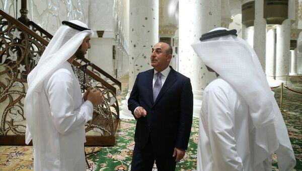 Türkiye Dışişleri Bakanı Mevlüt Çavuşoğlu Abu Dabi'de - Sputnik Türkiye