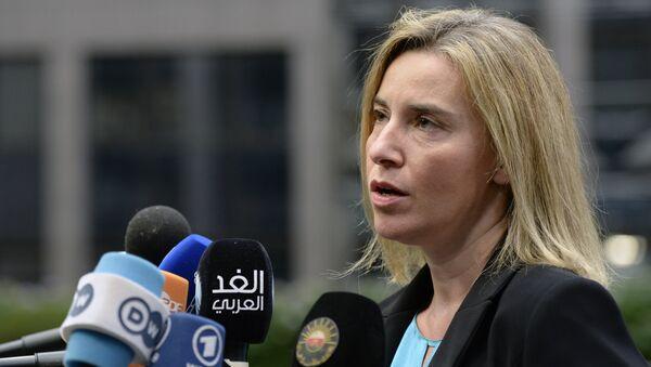 AB Dış İlişkiler Yüksek Temsilcisi Federica Mogherini - Sputnik Türkiye