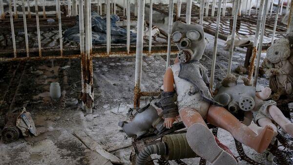 Çernobil'deki çocuk bakımevi. - Sputnik Türkiye