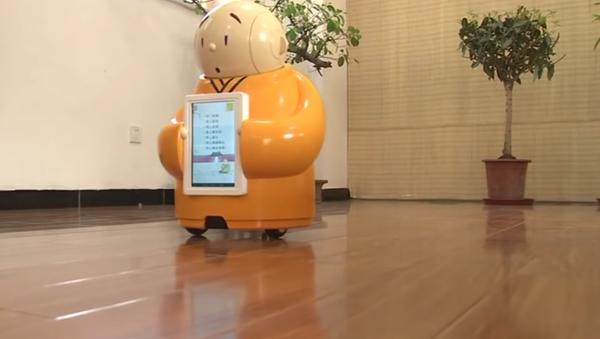 Robot keşiş Budizm öğretiyor - Sputnik Türkiye