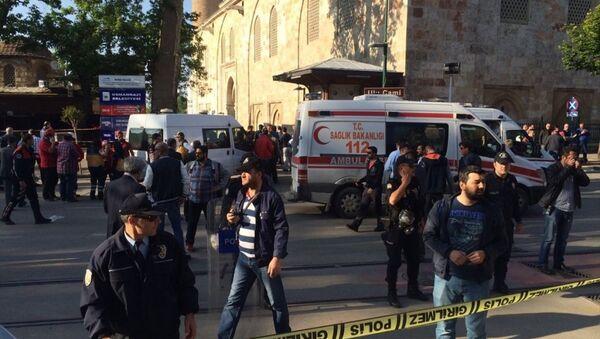Bursa'da canlı bomba saldırısı - Sputnik Türkiye