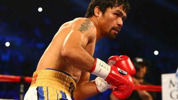 Filipinli boksör Manny Pacquiao - Sputnik Türkiye
