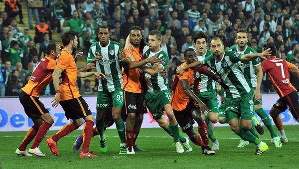 Bursaspor ile Galatasaray - Sputnik Türkiye