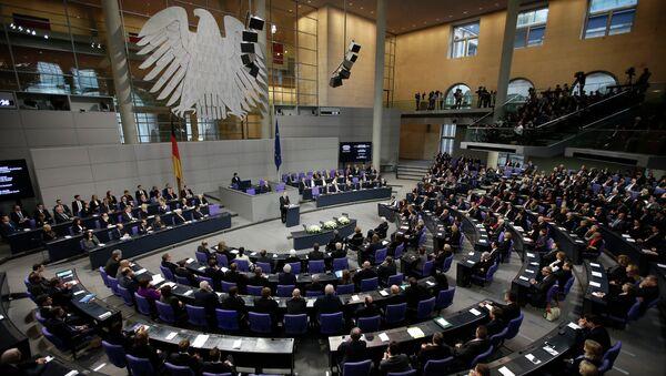The German parliament Bundestag in Berlin, Germany - Sputnik Türkiye