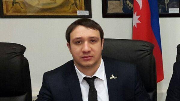 Azerbaycan-Slav Gençleri Rusya Temsilciliği Başkanı Toğrul Allahverdili - Sputnik Türkiye